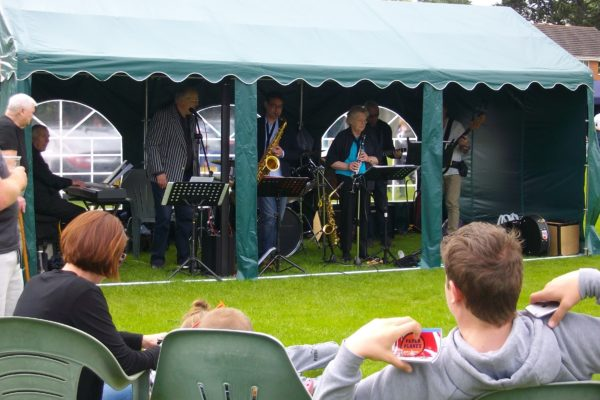 Jazz band at Billing Fayre