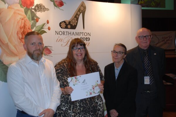 Ecton Brook Northampton in Bloom win Silver Award