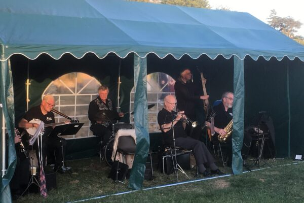 jazz band at Billing Parish Fayre